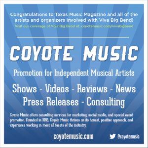 Check Out Coyote Music's Ad in Texas Music Magazine's Summer 2012 Issue!