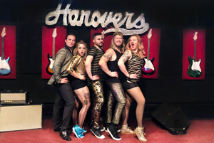 Jukebox Vandals perform at a Private Party