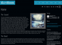 New dizzybloom Website Launched Marking the Release of the New Album: Oceans