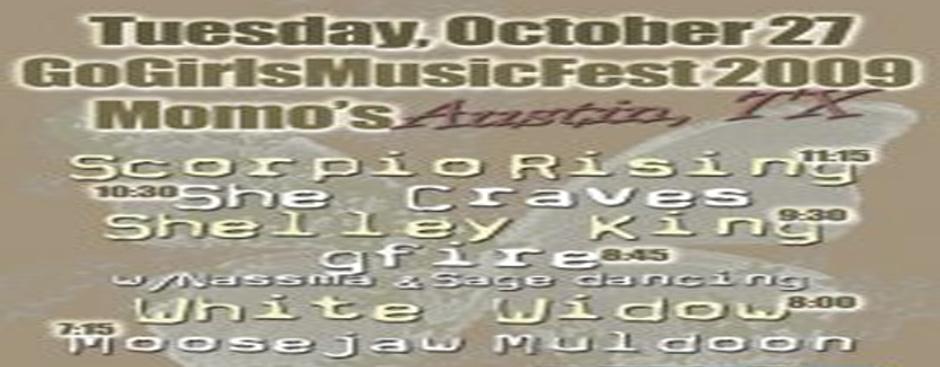 Austin GoGirlsMusicFest 2009