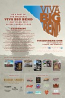 "Texas Music Magazine Invites One and All to ""Viva Big Bend"" July 26-29"