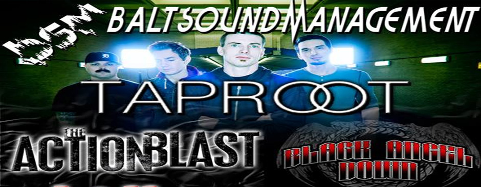 Black Angel Down and Taproot Play the House of Rock