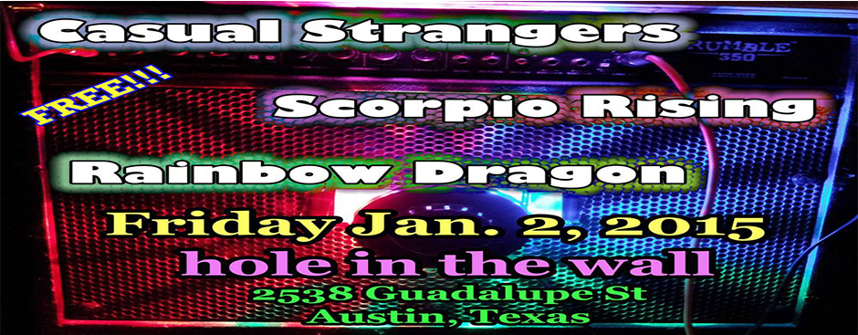Scorpio Rising plays Hole In The Wall