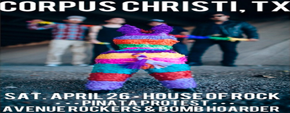 Piñata Protest Headlines House of Rock