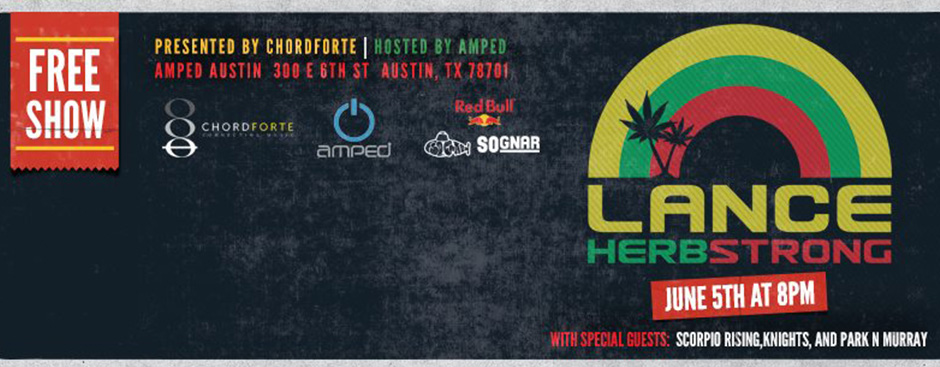 ChordForte Presents: Lance Herbstrong with special guests