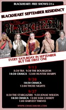 Chasca at The Blackheart