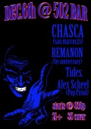Chasca Plays 502 Bar with Remanon, Tides, and Alex Scheel