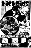 Hickoids and Old Pony play Hole In The Wall