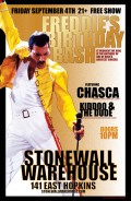 Chasca and Kiddoo & the Dude celebrate Freddie Mercury's Birthday at Stonewall Warehouse