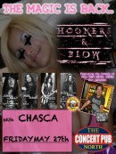 Hookers & Blow, Don Jamieson (from That Metal Show), and CHASCA play Concert Pub North