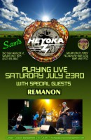 Heyoka Returns…with Remanon at Sam's Burger joint