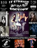 Le Strange Sideshow with Chasca, Blackwater Revival, and more!