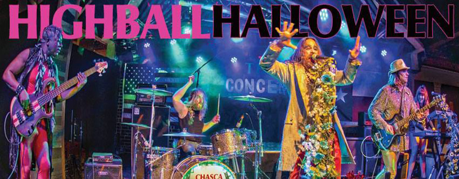 Chasca celebrates Halloween at Highball with Fragile Rock and Pretties for You