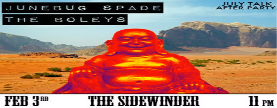 July Talk Afterparty: Junebug Spade and The Boleys at The Sidewinder