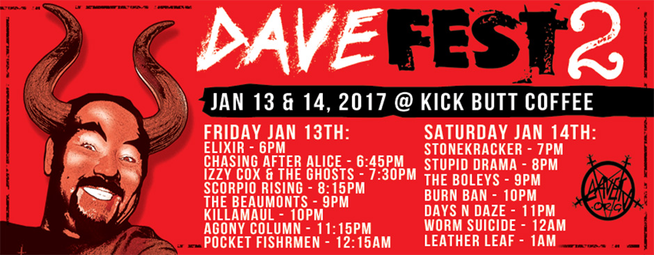 2nd Annual DaveFest (Day 1)