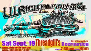 Threadgill's Announces Fall Show with AMA Winners Ulrich Ellison And Tribe and Latin At Heart