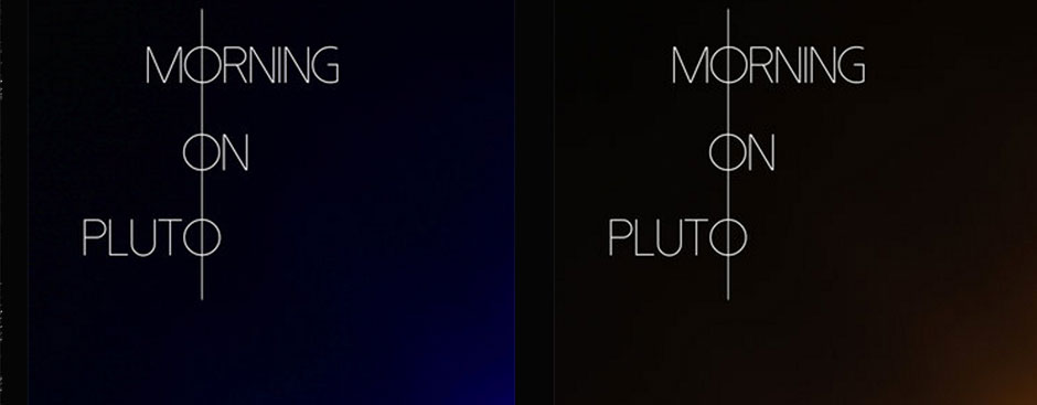 Morning On Pluto Release First Two Singles from Upcoming Album
