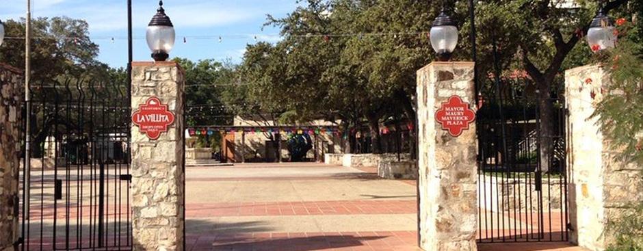 Maverick Plaza in La Villita