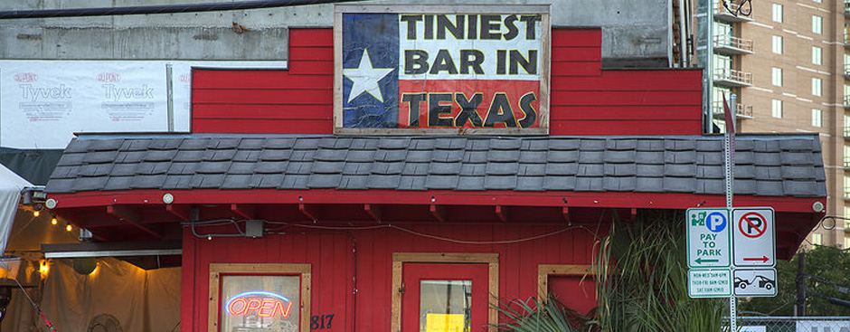 Tiniest Bar In Texas