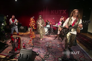 "Chasca Storms the Beaches of KUTX 98.9FM with ""So Long, Crassus"""
