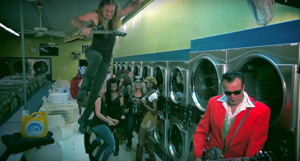 """I'm Down"" Video Features Ulrich Ellison and Tribe + Friends in Austin Laundromat"