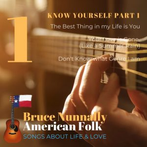 "Bruce Nunnally to Release 3-Song EP ""Know Yourself Part 1"" on May 14th (with much more to follow)"