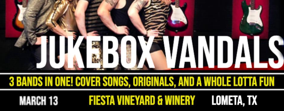 Jukebox Vandals, Zac + Marci, and Koepp'd Quiet Play Fiesta Winery