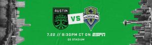La Murga de Austin Plays at Austin FC vs. Seattle Sounders FC