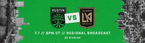 La Murga de Austin Plays at Austin FC vs. LAFC