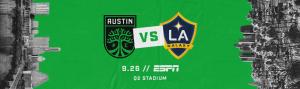 La Murga de Austin Plays at Austin FC vs. LA Galaxy