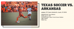 La Murga de Austin Plays at the Texas Soccer vs. Arkansas Game