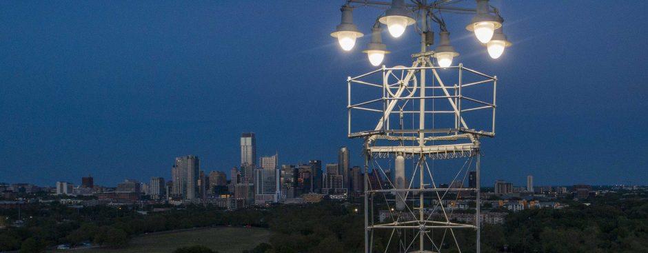 Zilker Park Moontower