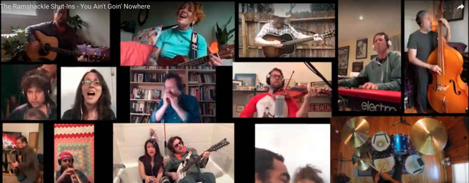 """All-Star Amalgam of Brooklyn-Based Musicians Cover The Byrds / Bob Dylan """"You Ain't Goin' Nowhere"""""""