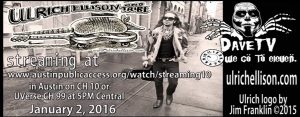 Ulrich Ellison and Tribe on DaveTV