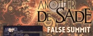"""Another De Sade Explores the Pursuit of Enlightenment with Release of """"False Summit"""""""